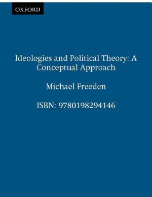 Ideologies and Political Theory PDF