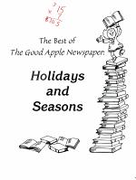 The Best of Good Apple Newspaper
