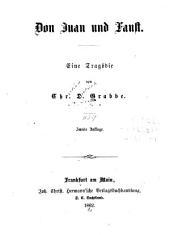 Don Juan und Faust: eine Tragödie