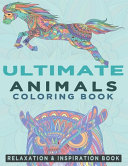 Ultimate Animals Coloring Book