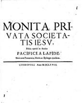 Monita privata societatis Jesu