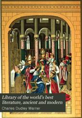 Library of the World's Best Literature, Ancient and Modern: Volume 42