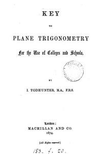 Plane trigonometry  Key PDF