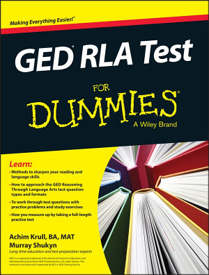 GED RLA For Dummies PDF