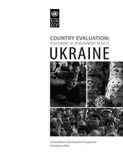 Assessment of Development Results   Ukraine PDF