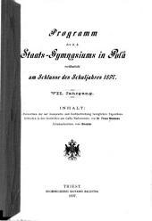 Verzeichnis der auf Aussprache und Rechtschreibung bezüglichen Eigenthümlichkeiten in den Inschriften aus Gallia Narbonensis ...