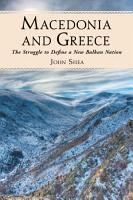 Macedonia and Greece PDF