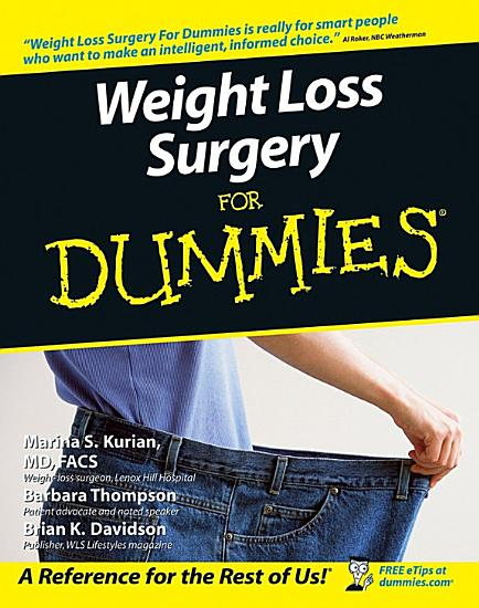 Weight Loss Surgery For Dummies PDF