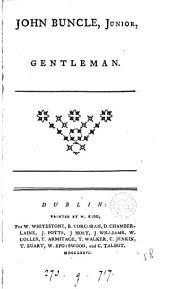John Buncle, junior, gentleman [by T.Cogan: Volume 1