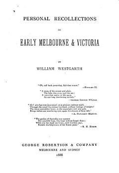 Personal Recollections of Early Melbourne   Victoria PDF