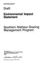 Southern Malheur grazing management program