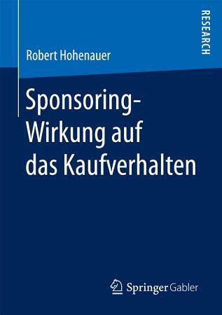 Sponsoring Wirkung auf das Kaufverhalten PDF