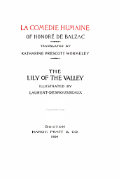 La Comédie Humaine of Honoré de Balzac: Volume 12