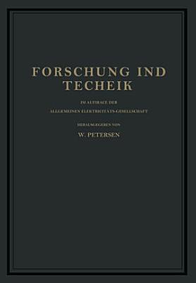 Forschung und Technik PDF