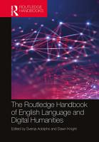 The Routledge Handbook of English Language and Digital Humanities PDF