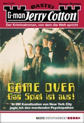 Jerry Cotton - Folge 2161: Game Over - Das Spiel ist aus, Teil 1