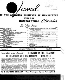 Journal of the American Institute of Homeopathy PDF