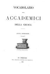Vocabolario degli accademici della Crusca: Volume 1