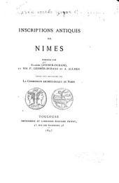 Inscriptions antiques de Nimes