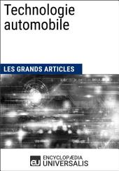 Technologie automobile: Les Grands Articles d'Universalis