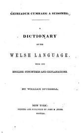A Dictionary of the Welsh Language
