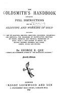 The Goldsmith s Handbook PDF