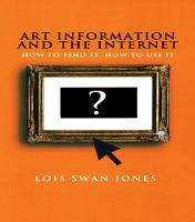 Art Information and the Internet PDF