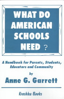 What Do American Schools Need?