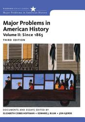 Major Problems In American History Book PDF