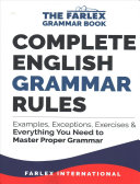 Complete English Grammar Rules PDF