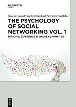 The Psychology of Social Networking Vol.1