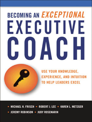 the Becoming an Exceptional Executive Coach