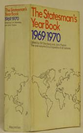 The Statesman's Year-Book 1969-70: The one-volume Encyclopaedia of all nations