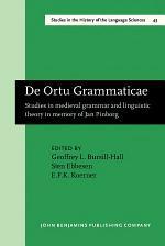 De Ortu Grammaticae