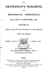 The Gentleman's Magazine, and Historical Chronicle, for the Year ...: Volume 101