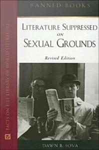 Literature Suppressed on Sexual Grounds Book
