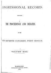 Congressional Record: Proceedings and Debates of the ... Congress, Volume 13, Part 7