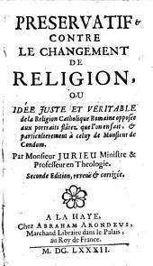 Preservatif contre le changement de religion (etc.) 2. ed