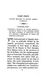 Outline of the revolution in Spanish America; or, An account of the ... war carried on between Spain and Spanish America, by a South-American [M. Palacio Fajardo].