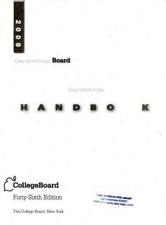 College Handbook 2009 Book