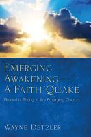 Emerging Awakening   A Faith Quake PDF