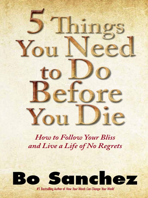 Five Things You Need To Do Before You Die PDF