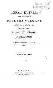 Annali d'Italia dal principio dell'era volgare sino all'anno 1750: Volumi 5-6