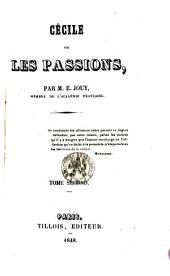 Cécile, Ou, Les Passions: Volume 2
