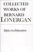 Topics in Education