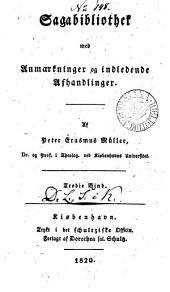 Sagabibliothek med anmærkninger og indledende afhandlinger: Bind 3