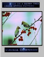 Two Birds on a Berry Tree Cross Stitch Pattern