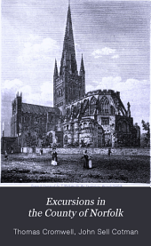 Excursions in the County of Norfolk: Comprising a Brief Historical and Topographical Delineation of Every Town and Village ; Together with Descriptions of the Residences of the Nobility and Gentry, Remains of Antiquity, and Every Other Interesting Object of Curiosity, Forming a Complete Guide for the Traveller and Tourist