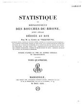 Statistique du département des Bouches du Rhône avec atlas