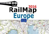 RailMap Europe 2017: Icon illustrated Railway Atlas of Europe, Turkey and Morocco ideal for interrail and Eurail pass holders